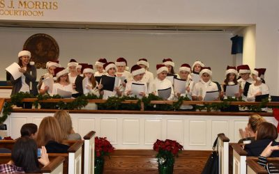VILLAGE HOLDS HOLIDAY OPEN HOUSE