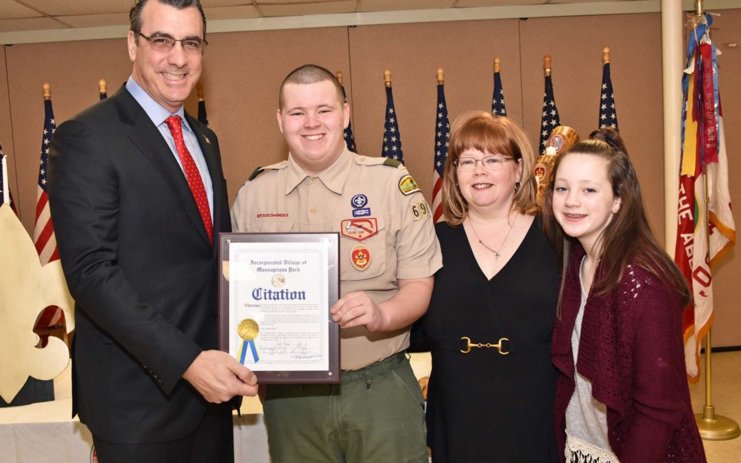 SHANNON CAILLIAS RECOGNIZED BY MAYOR