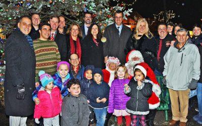 CHRISTMAS TREE AND MENORAH LIGHTING