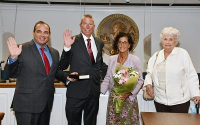 Todd A. Svec sworn in as Trustee of the Incorporated Village of Massapequa Park