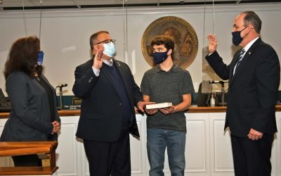 Daniel M. Pearl sworn in as Mayor of the Incorporated Village of Massapequa Park