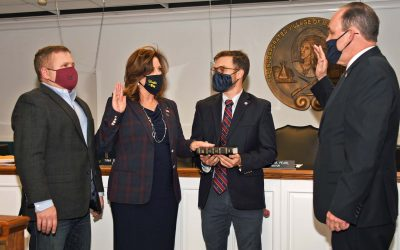 Christine Wiss sworn in as Trustee of the Incorporated Village of Massapequa Park