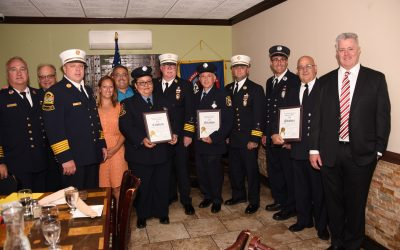 Village Honors Volunteer Firefighters of the Year