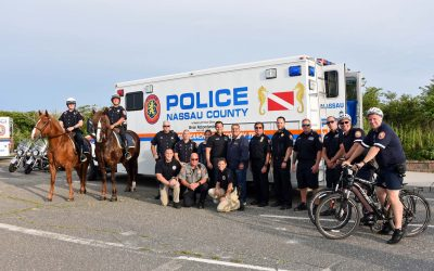 Massapequa Park Celebrates National Night Out with the Nassau County Police Department