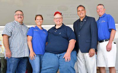 Village helps to Kick-Off Massapequa Chamber of Commerce Street Fair