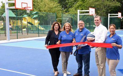 Village of Massapequa Park Celebrates Grand Reopening of the Brady Park Basketball Courts